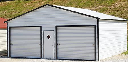 Triple Wide Carport Garage, Vertical Roof, Gainesville, Florida