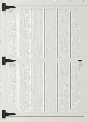 4 Feet Single Wood Door For Portable Wood Building