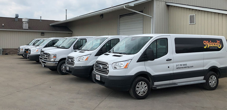 Nelson's Catering Delivery Trucks