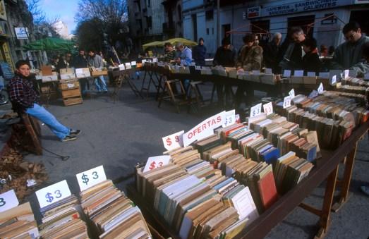 Uruguay, Montevideo, Mercado Tristán Narvaja
