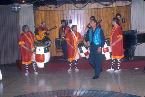 Uruguay, Montevideo, espectáculo de Candombe, hotel Columbia