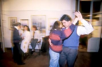 """Uruguay, Montevideo, escuela de baile de tango """"Joven Tango"""""""