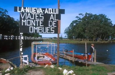 Uruguay, Rocha, arroyo de Balizas