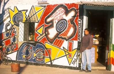 Uruguay, Tacuarembó, San Gregorio de Polanco, pinturas murales