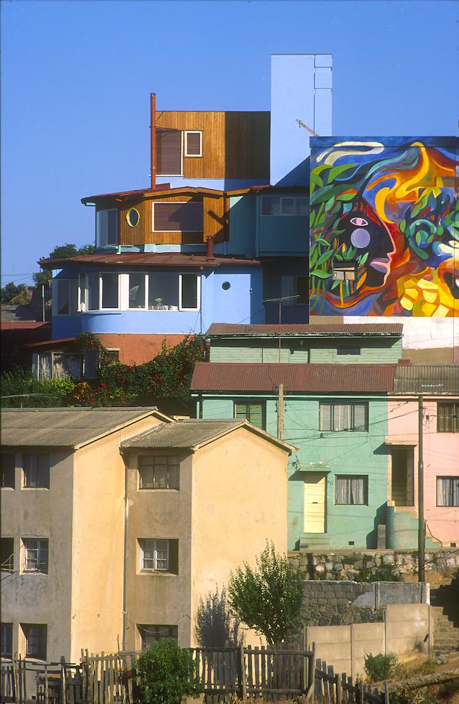 Chile, Valparaiso, La Sebastiana, casa de Pablo Neruda