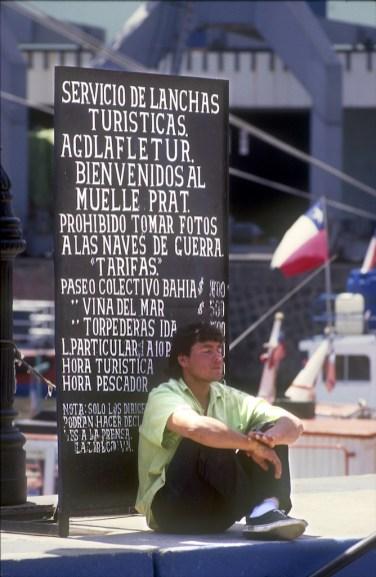 Chile, Valparaiso, Muelle del Prat, Información
