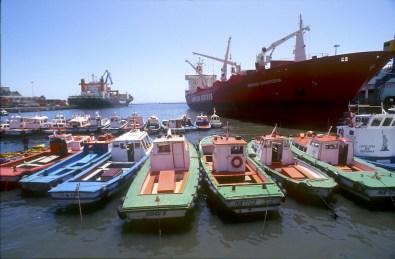 Chile, Valparaiso, Muelle del Prat