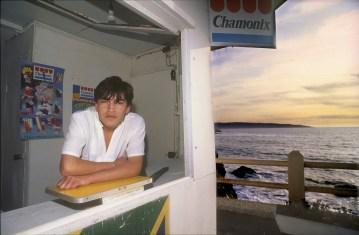 Chile, Reñaca, puesto de helados