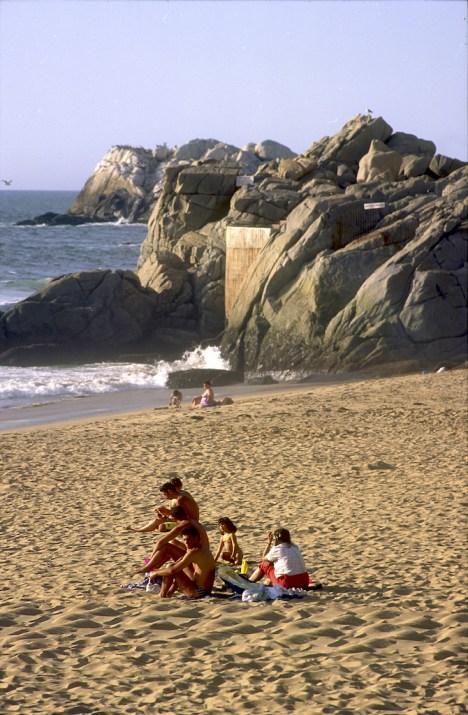 Chile, Reñaca, playa de Reñaca