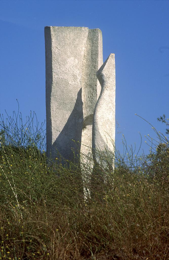 Chile, Quintero, jardín Bomirador, escultura