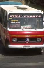 Chile, Viña del Mar, Bus, transporte