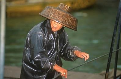 Hong Kong, Chung Chau, pescadora