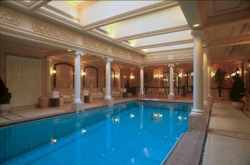 Hong Kong, piscina del hotel Mandarin