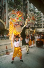 Hong Kong, baile del Dragon