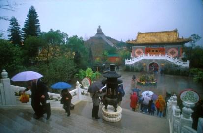 Hong Kong, Isla Lantau, monasterio Po Lin