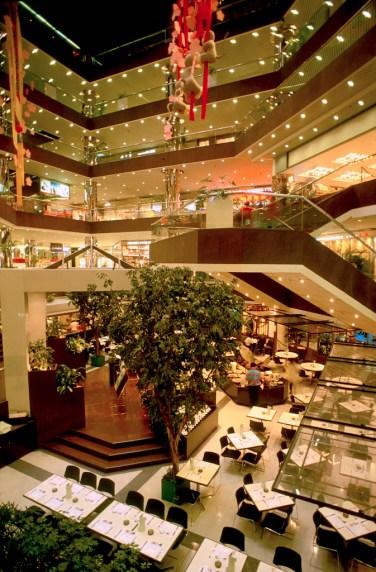 Hong Kong, Kowloon, centro comercial