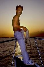 Cuba,llegada a Puerto Esperanza, marinero