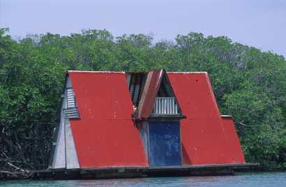 Puerto Rico, La Parguera, Casa Flotante