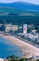 Uruguay, Maldonado, Piriapolis, playa Grande