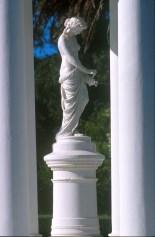 Uruguay, Maldonado, Piriapolis, fuente de Venus, escultura
