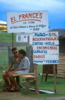 Uruguay, Dp, Rocha, Cabo Polonio, turistas