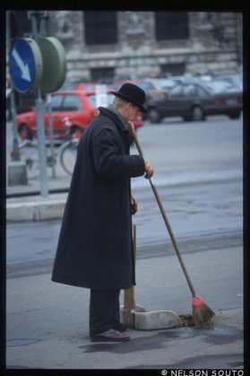 Austria, Viena, conductor de carruaje