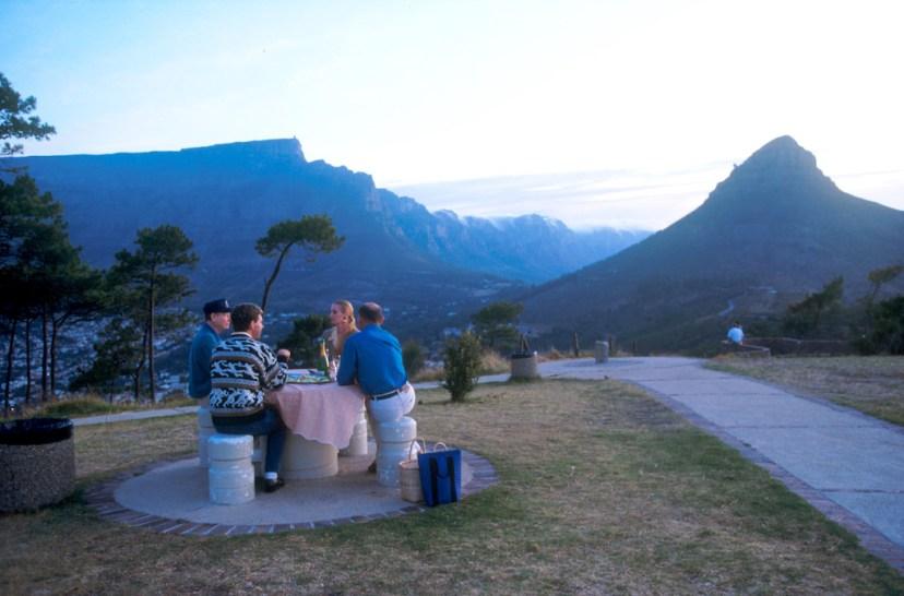 Sudáfrica, El Cabo, Capetown, Signal Hill, picnic