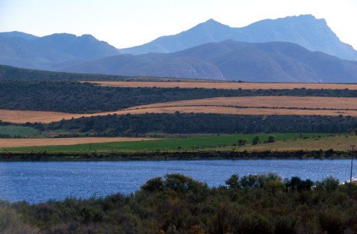 Sudáfrica, paisaje del Karoo