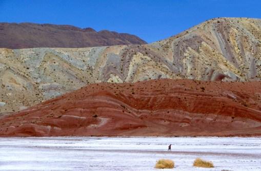 Bolivia, ruta de Potosi a Uyuni