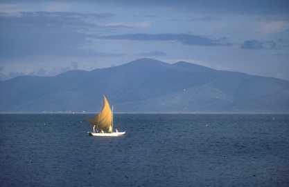 Bolivia, Lago Titicaca, transporte