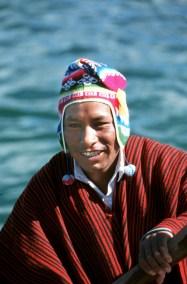 Bolivia, Lago Titikaka, retrato