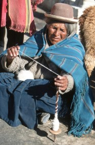 Bolivia, Lago Titikaka, Huatajata, retrato