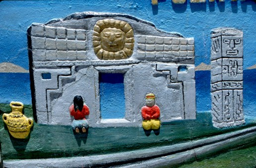 Bolivia, Altiplano, bajo relieve