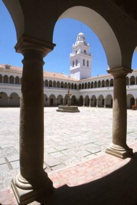 Bolivia, Sucre, Universidad San Francisco Javier