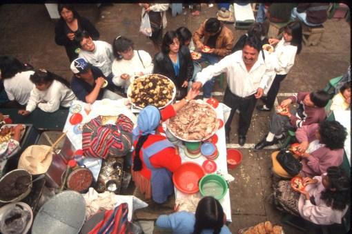 Bolivia, Sucre, mercado