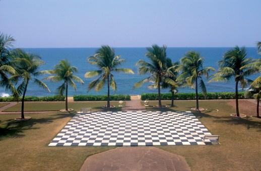 Sri Lanka, Galle, vista desde la habitación, hotel Galle Face