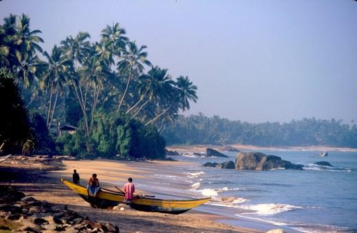 Sri Lanka, Matara, playa de pescadores