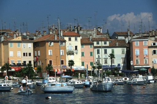 Croacia, Rovinj, puerto