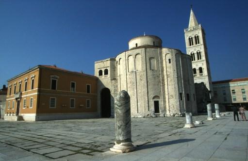 Croacia, Zadar, catedral de Zadar