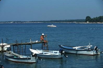 Croacia, Porec, puerto