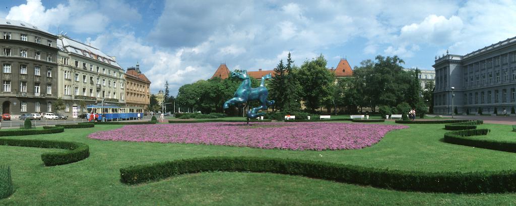Croacia, Zagreb, Plaza Roosevelt