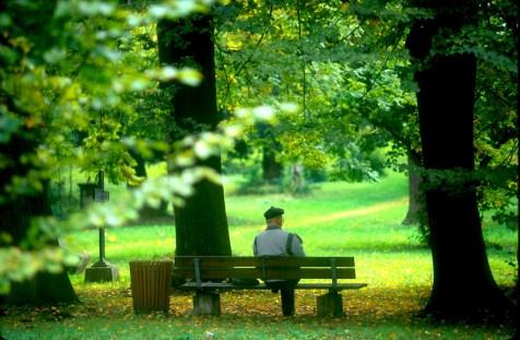 Alemania, Turingia, Weimar, cementerio Ruso, parque