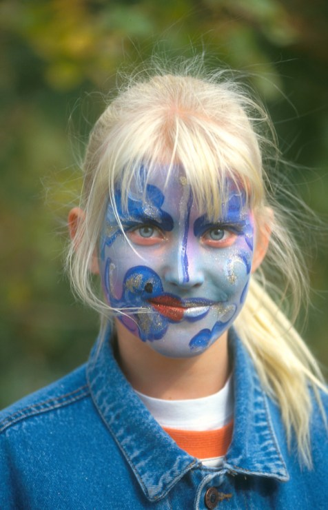 Alemania, Brandenburgo, Potsdam, Estudios Babelsberg, maquillaje, retrato