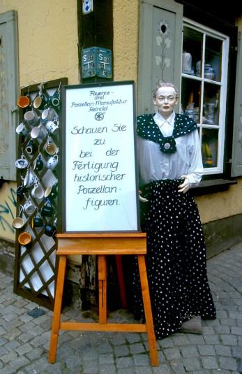 Alemania, Turingia, Erfurt, tienda artesanía