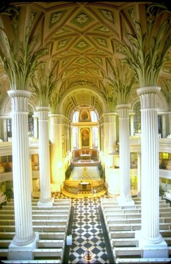 Alemania, Sajonia, Leipzig, iglesia Nicolai