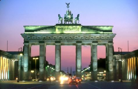 Alemania, Berlín, Puerta de Brandeburgo, puerta