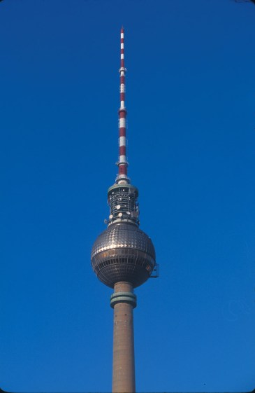 Alemania, Berlín, torre tv antigua RDA