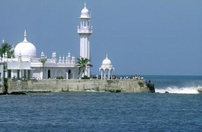 India, Maharashtra, Bombay, Mezquita Haji Ali