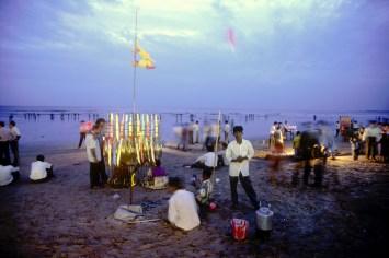 India, Maharashtra, Maharashtra, Bombay, playa Juhu