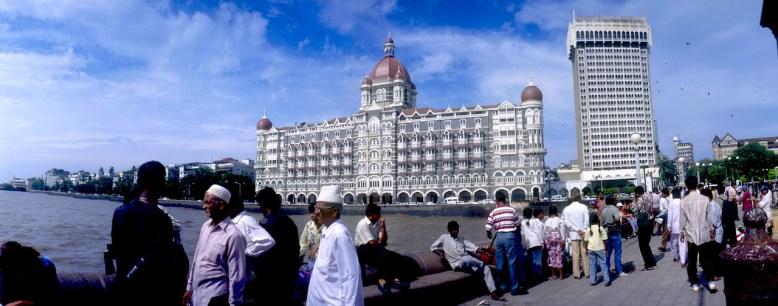 India, Maharashtra, Bombay, Puerta de la India, Hotel Taj Mahal